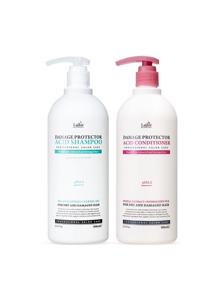 Damage Protector Acid Shampoo + Conditioner Set
